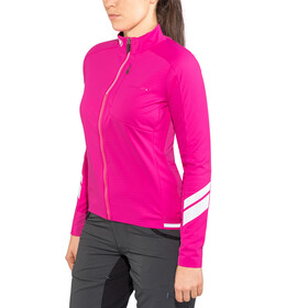Endura Windchill Jas Dames, cherry red